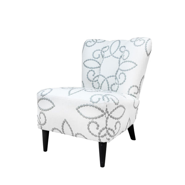 Grace Emblem Slipper Chair