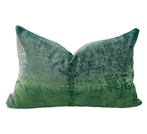 Seafoam Green Watermark Pillow