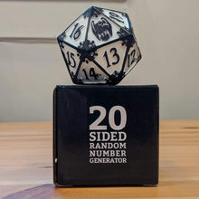 Load image into Gallery viewer, Storm Crow Giant D20