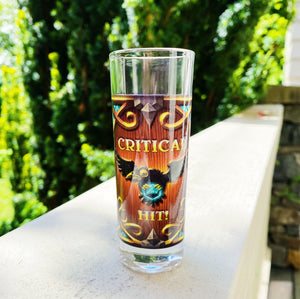 [LIMITED] Storm Crow CRITICAL HIT Shot Glass