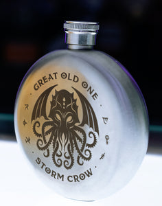 The Great Old One - Cthulhu Flask