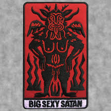 Big Sexy Satan - Embroidered Patch