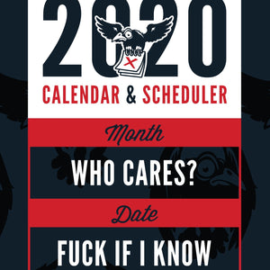 2020 Magnetic Calendar and Scheduler