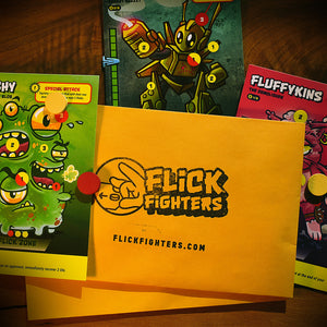 Flick Fighters -  Collectible Game