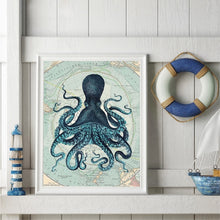 "Load image into Gallery viewer, ""The Deep One Emerges"" Wall Art"