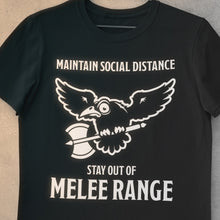 "Load image into Gallery viewer, [NEW EDITION] ""OUT OF MELEE RANGE"" Unisex Tee"