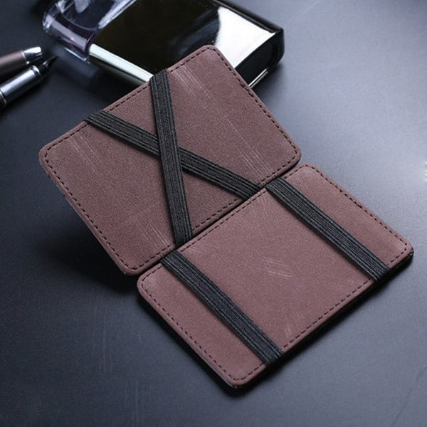 Mini Leather unisex women men Wallet Wallet ID