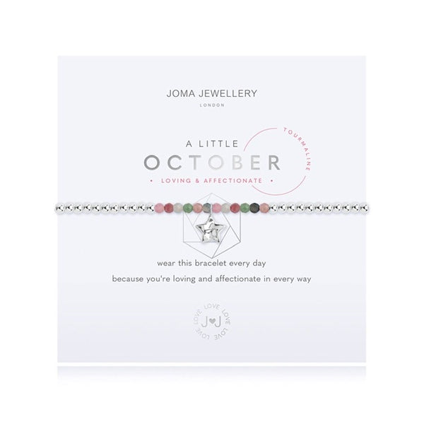 Joma - A Little Birthstone October Tourmaline Bracelet