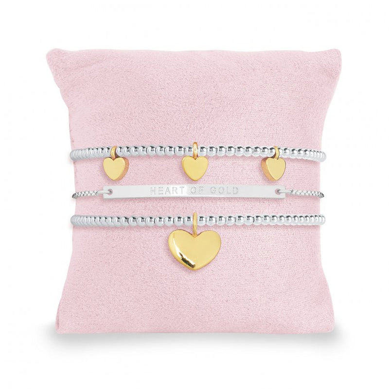 Joma Occasion Gift set - heart of gold bracelet set