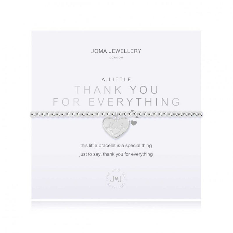 Joma - A Little thank you for everything bracelet