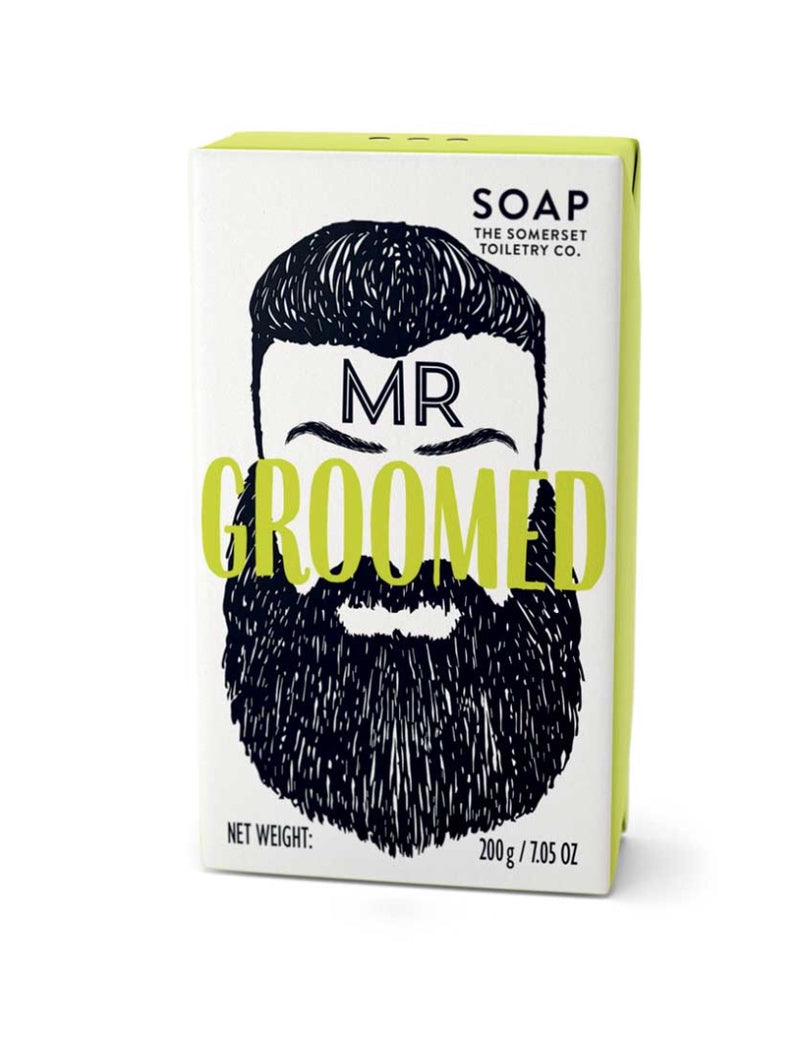Somerset Toiletry co - Mr Beard triple milled soap bar