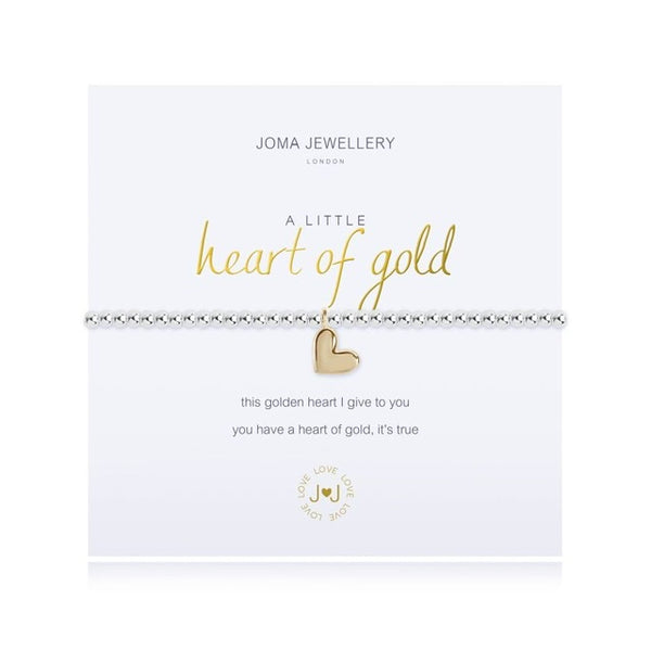 Joma - A Little Heart of Gold Bracelet