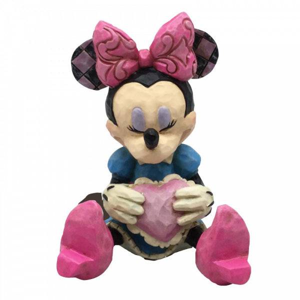 Disney Traditions - Mini Minnie Mouse with Heart