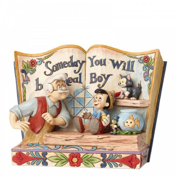 Disney Traditions - Someday You Will Be A Real Boy - Storybook Pinocchio