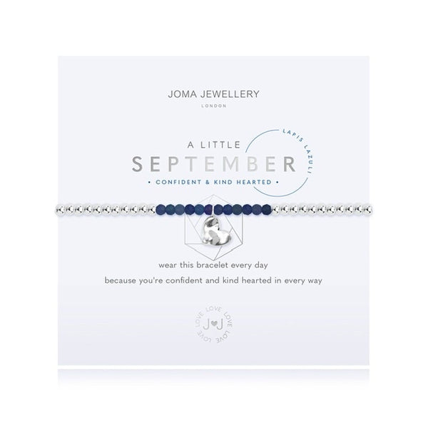 Joma - A Little Birthstone September Lapis Bracelet