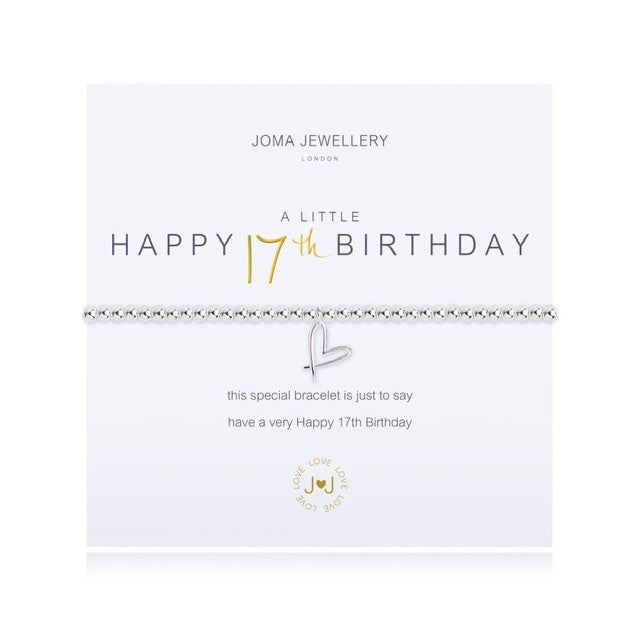 Joma - A Little Happy 17th Birthday Bracelet