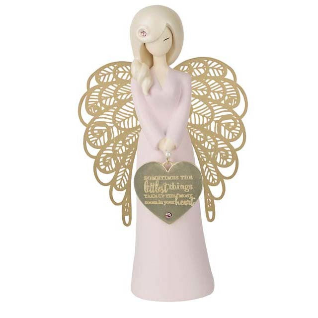 You are an angel - baby girl - sometimes the littlest things take up the most room in your heart