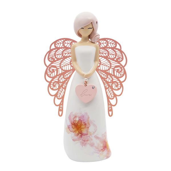 YOU ARE AN ANGEL - FLORAL - LOVE