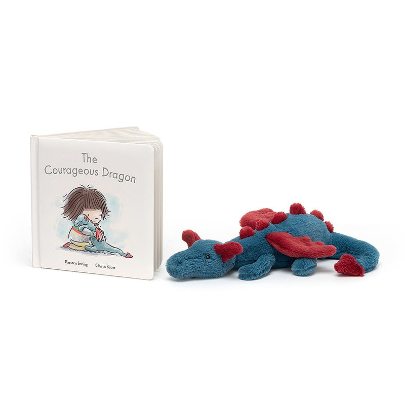 Jellycat - The Courageous Dragon Book