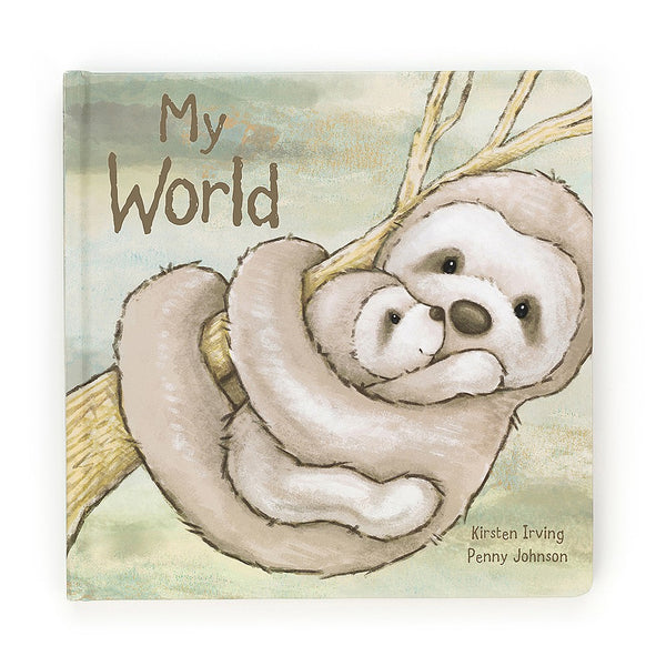 Jellycat - My World Book