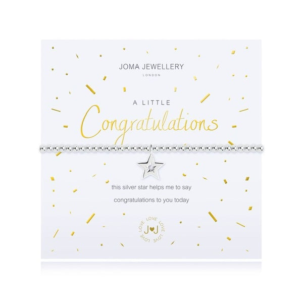 Joma - A Little Congratulations Bracelet