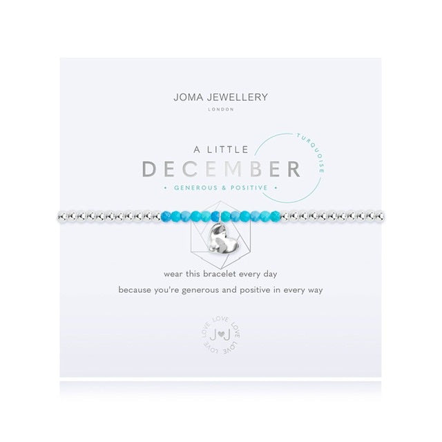 Joma - A Little Birthstone December Turquoise Bracelet