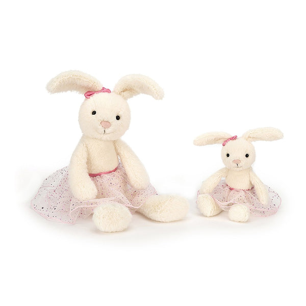 Jellycat - Belle Bunny Ballet - Small or Large - Soft Toy