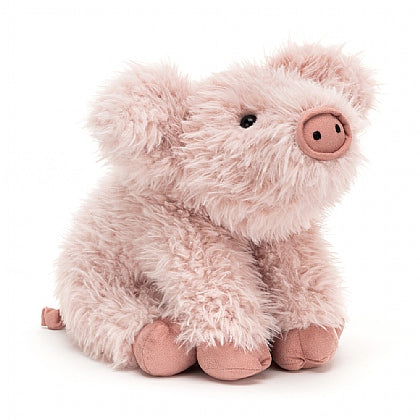 JELLYCAT - CURVIE PIG - SOFT TOY