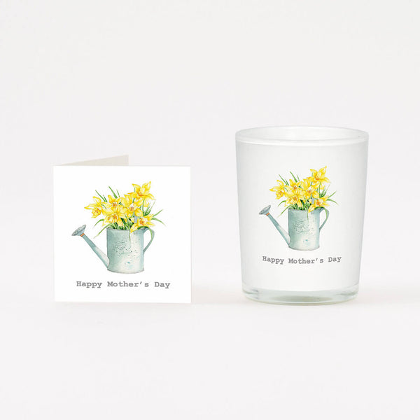 Crumble and Core - 'Happy Mother's Day' - Daffodil - Candle