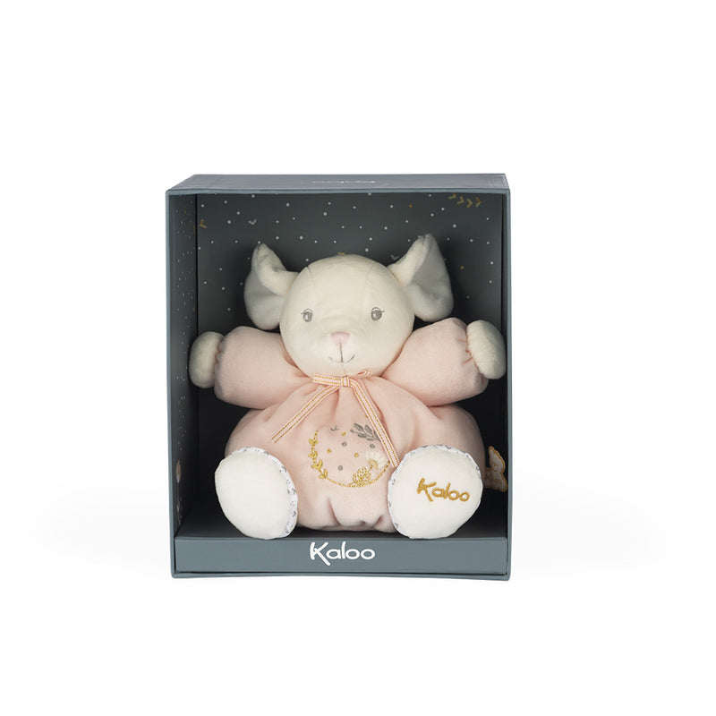 Kaloo - Chubby Mouse - Soft Toy - Pink
