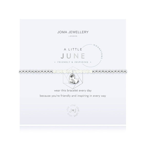 Joma - A Little Birthstone June Moonstone Bracelet