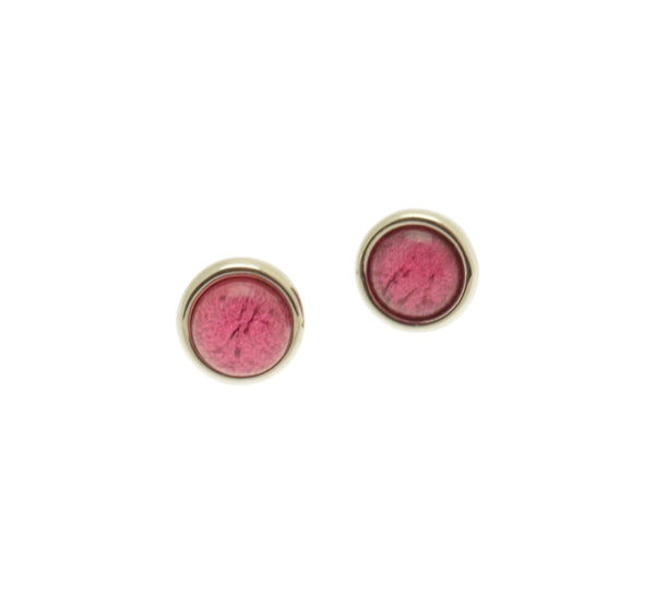 Miss Milly Fuchsia Pink stud earrings