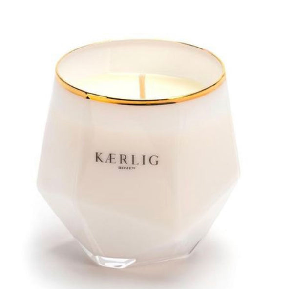 Kaerlig - Luxury Picasso Candle in Pink, Purple or Amber Fragrances