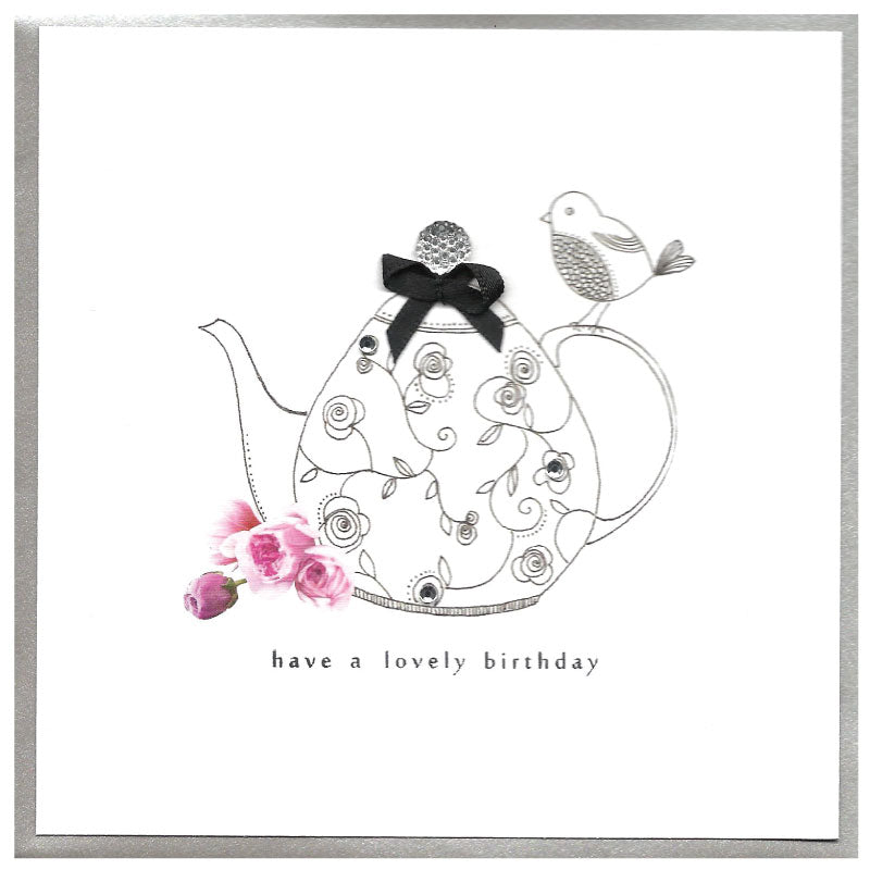 Piccadilly Greeting Card - Birthday Card - Teapot