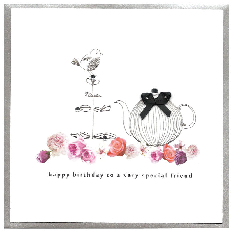 Piccadilly Greetings Card - Happy Birthday - Special Friend