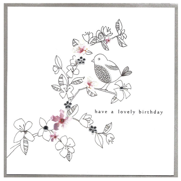 Piccadilly Greetings Card - Have a Lovely Birthday