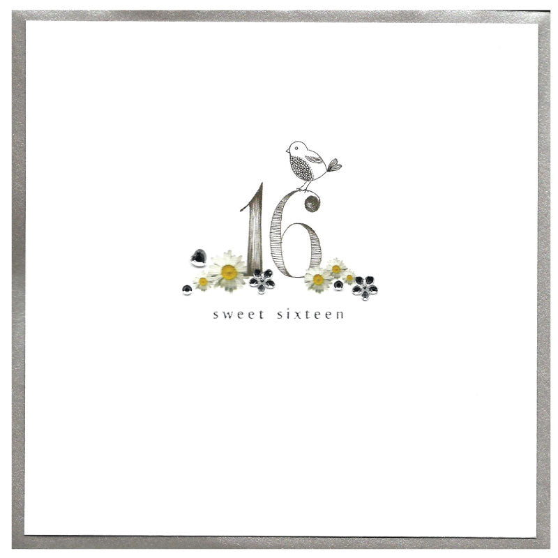 Piccadilly Greetings Card  - Happy 16th Birthday