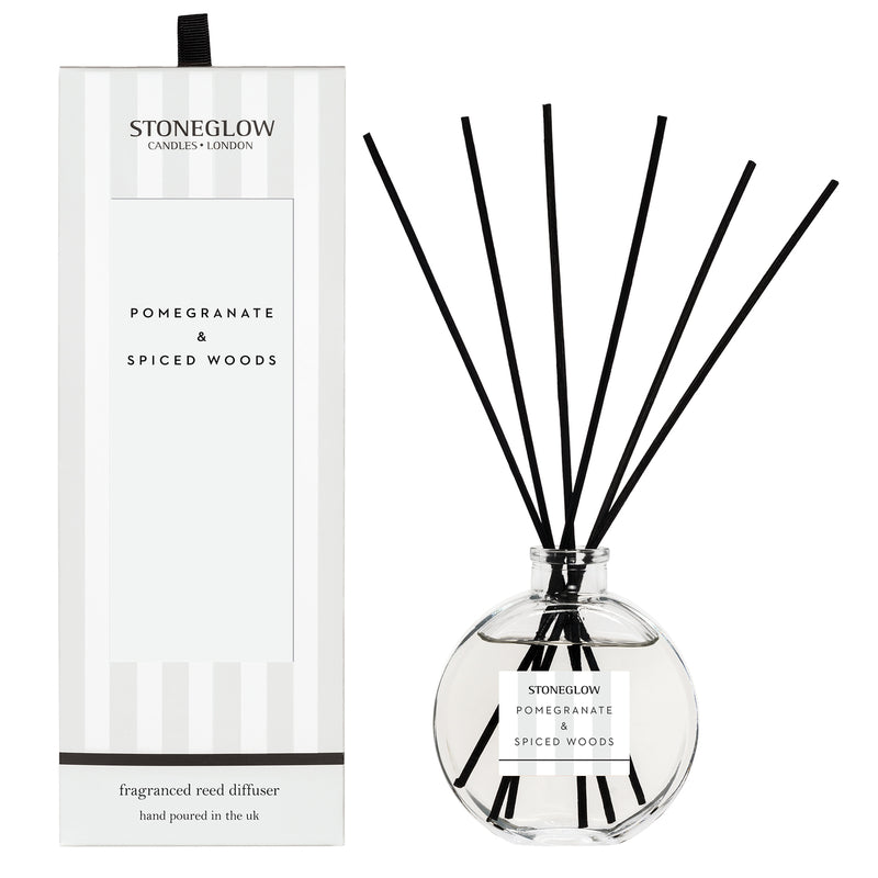Stoneglow Modern classics - pomegranate & spiced woods diffuser