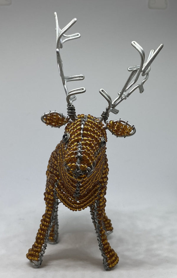 Medine Design - Beaded Highland Stag - Hand crafted