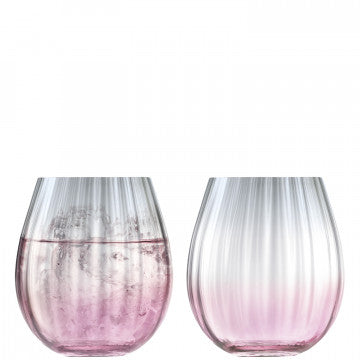 LSA International Dusk Pink & Grey Tumblers x 2