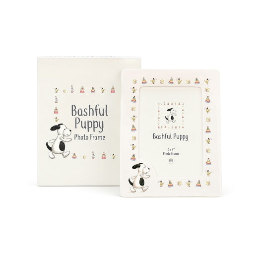 Jellycat - Bashful Puppy Photo Frame