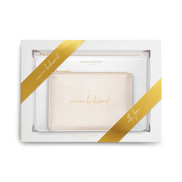 Katie Loxton Pouch Gift Set - Bridal Collection
