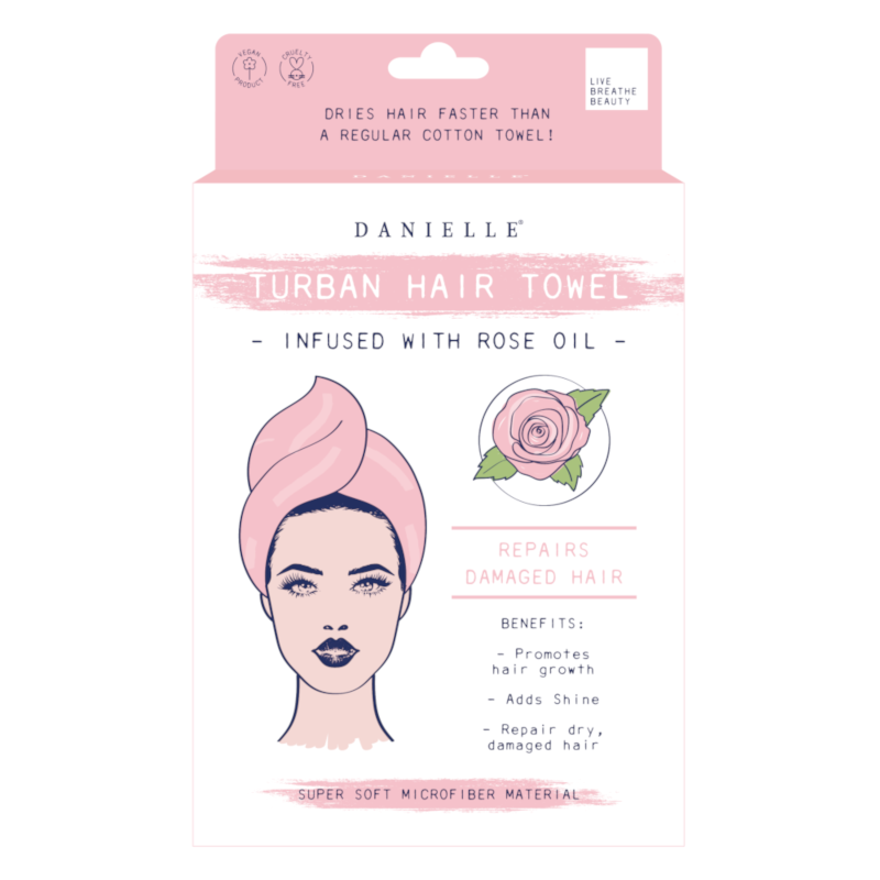 Danielle Creations - Rose Oil Infused Hair Turban