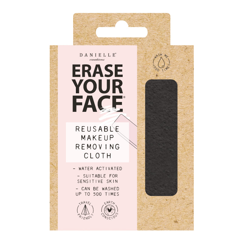 Danielle Erase Your Face Eco Makeup Removing Cloth - Choice of 3 Colours