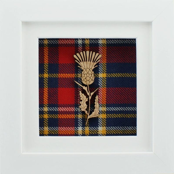 The Damside - Scottish Framed Picture - Thistle