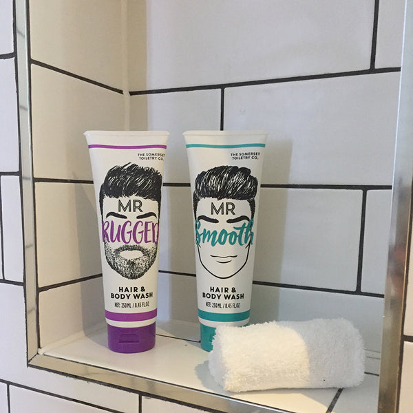 Somerset Toiletry co - Mr Beard Hair and Bodywash Range