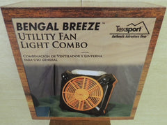 Bengal Breeze Battery Powered Camping Fan Light Combo