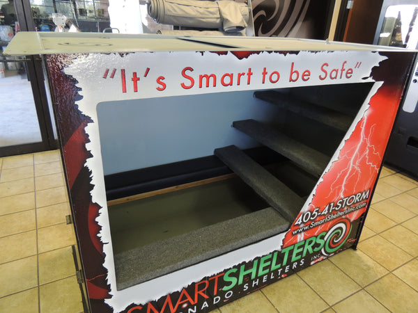 Smart Shelters Tornado Shelters Regular Size Storm Shelter