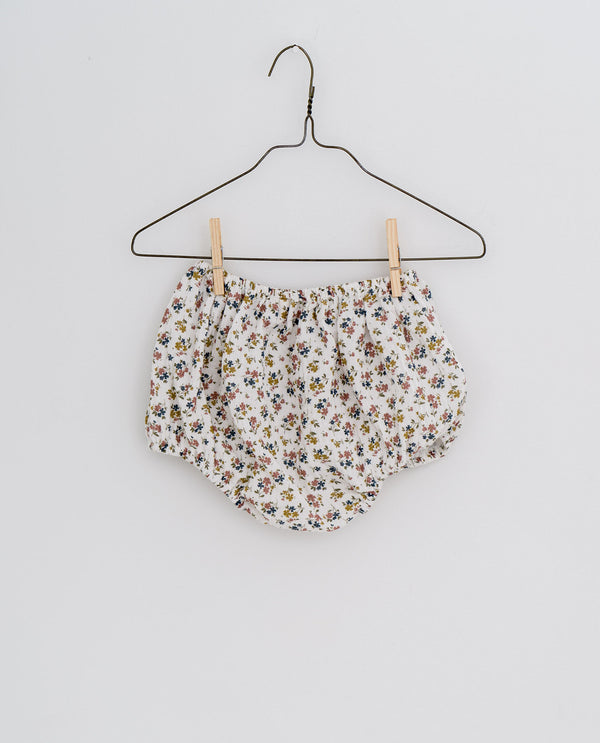 Charlie bloomers - Aster floral in muslin