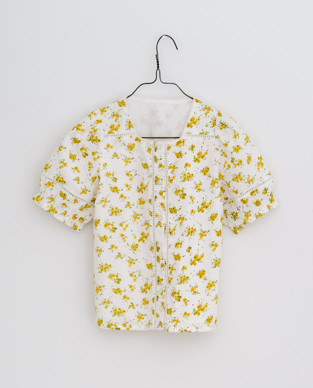 Hetty Blouse - Buttercup floral